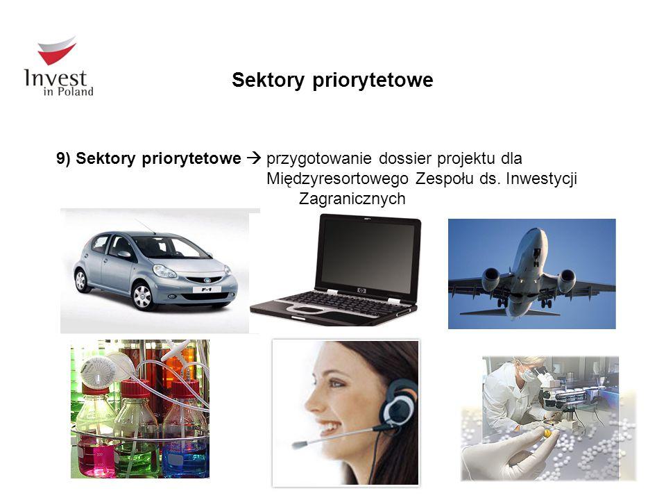 Sektory priorytetowe