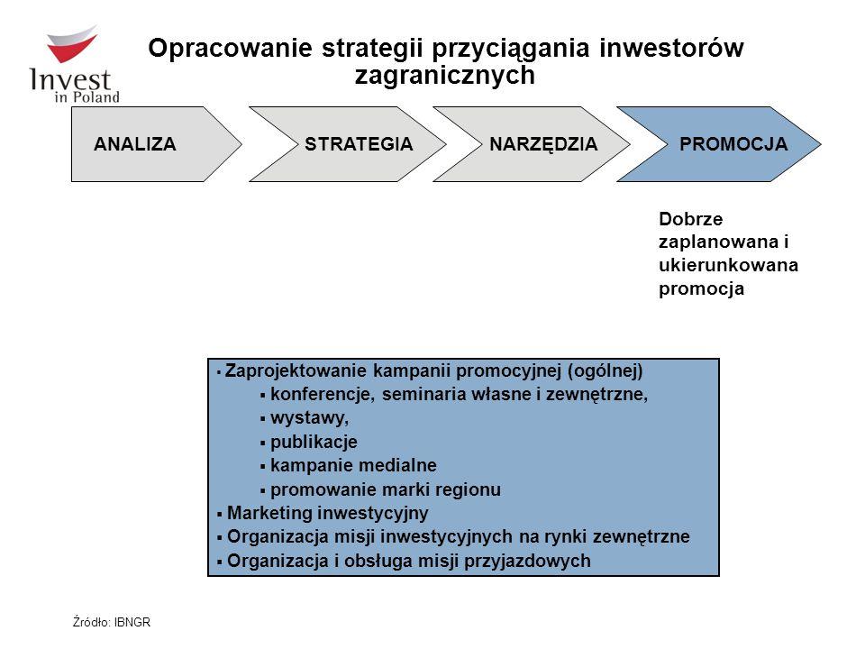 Opracowanie strategii przyciągania inwestorów zagranicznych