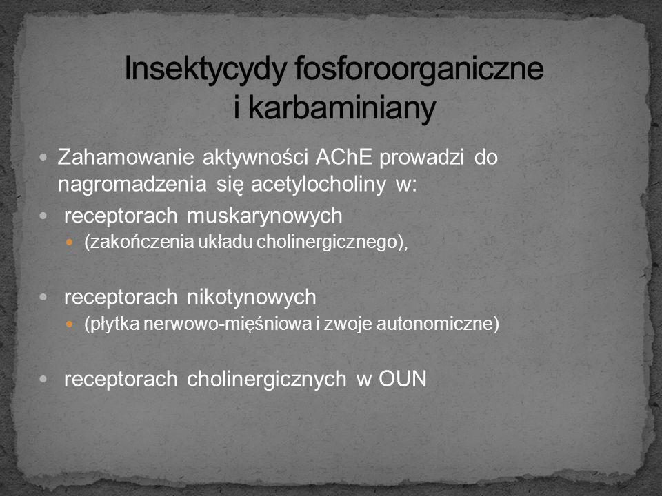 Insektycydy fosforoorganiczne i karbaminiany