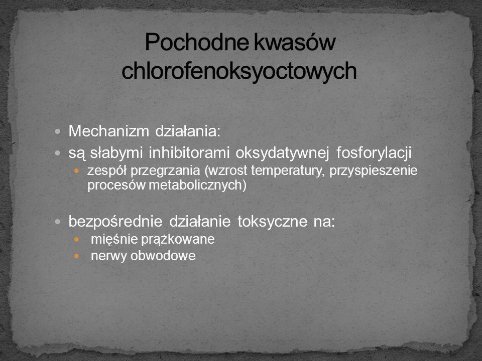 Pochodne kwasów chlorofenoksyoctowych