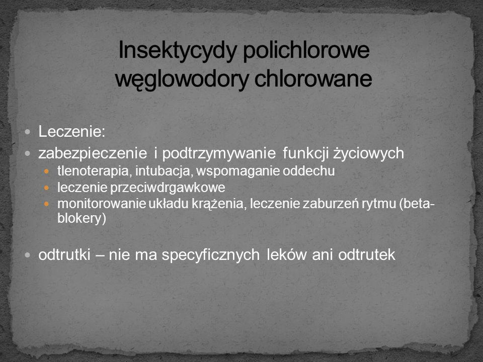 Insektycydy polichlorowe węglowodory chlorowane