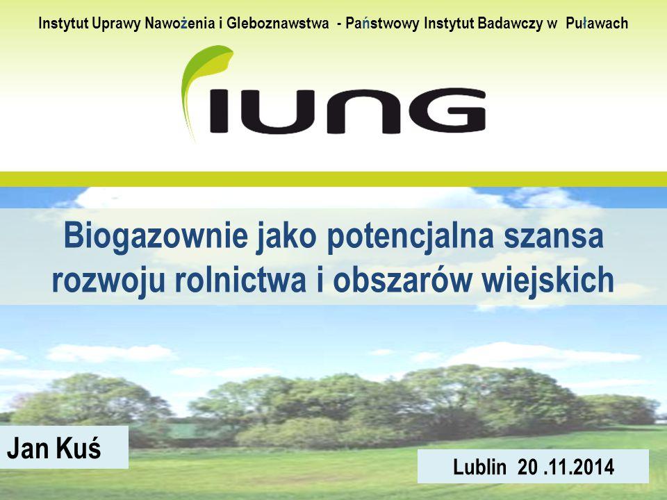Instytut Uprawy Nawożenia i Gleboznawstwa - Państwowy Instytut Badawczy w Puławach