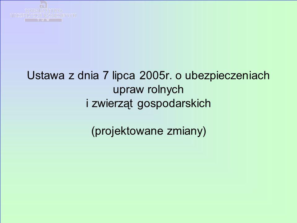 Ustawa z dnia 7 lipca 2005r.