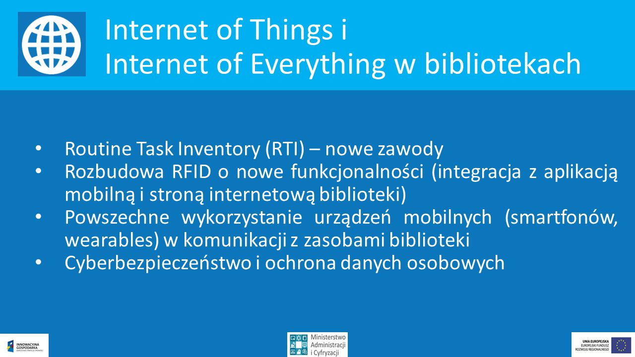 Internet of Everything w bibliotekach