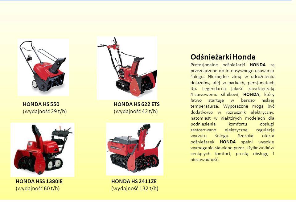 Odśnieżarki Honda HONDA HS 550 (wydajność 29 t/h)