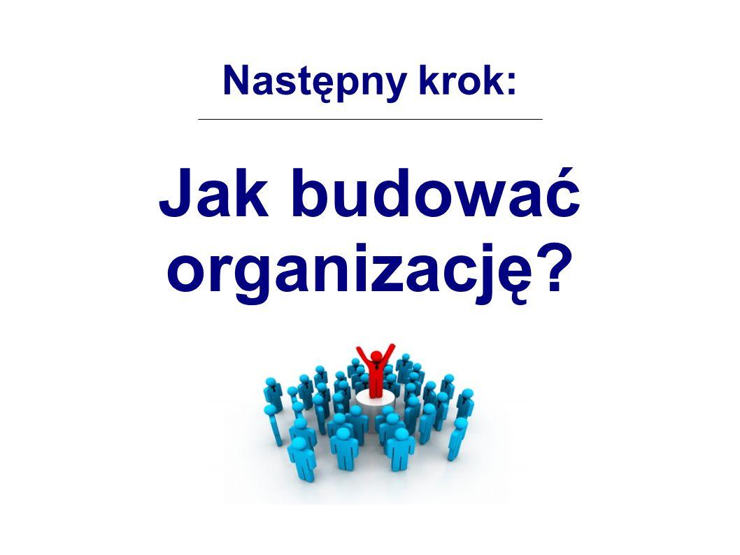 Jak budować organizację
