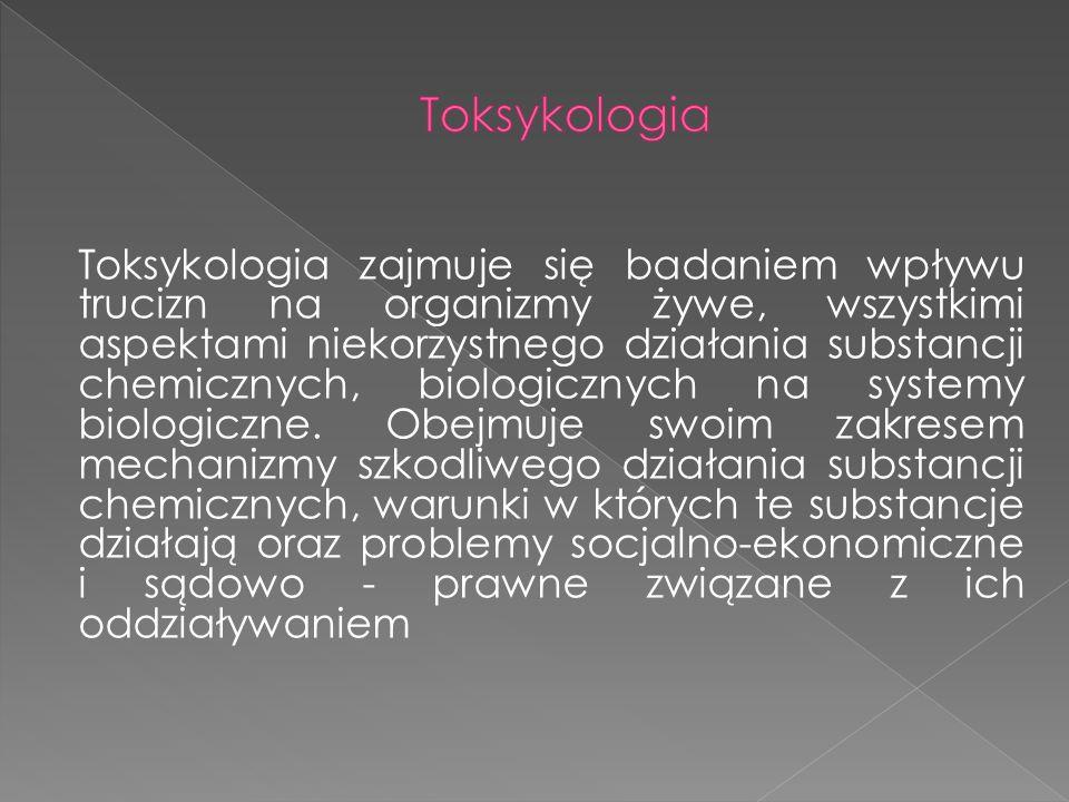 Toksykologia
