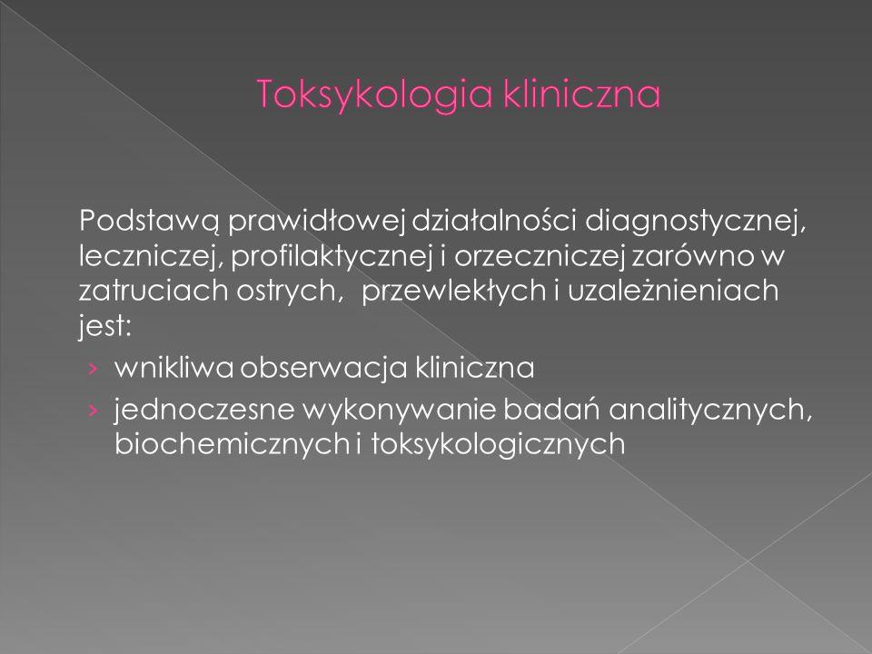 Toksykologia kliniczna