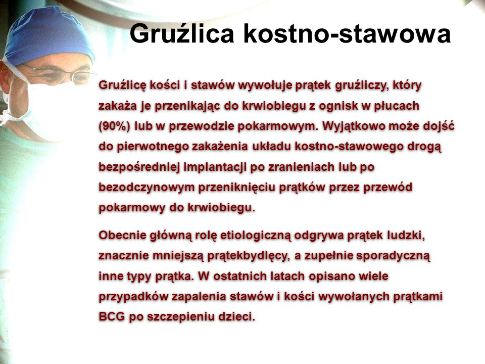 Gruźlica kostno-stawowa