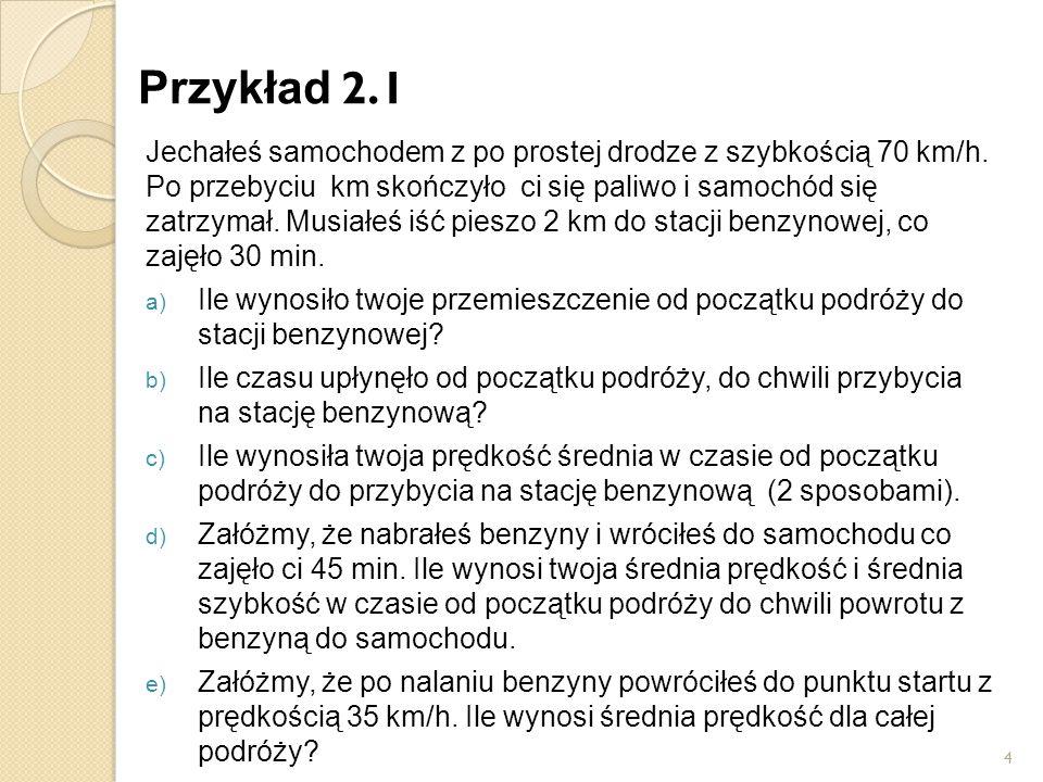 Przykład 2.1