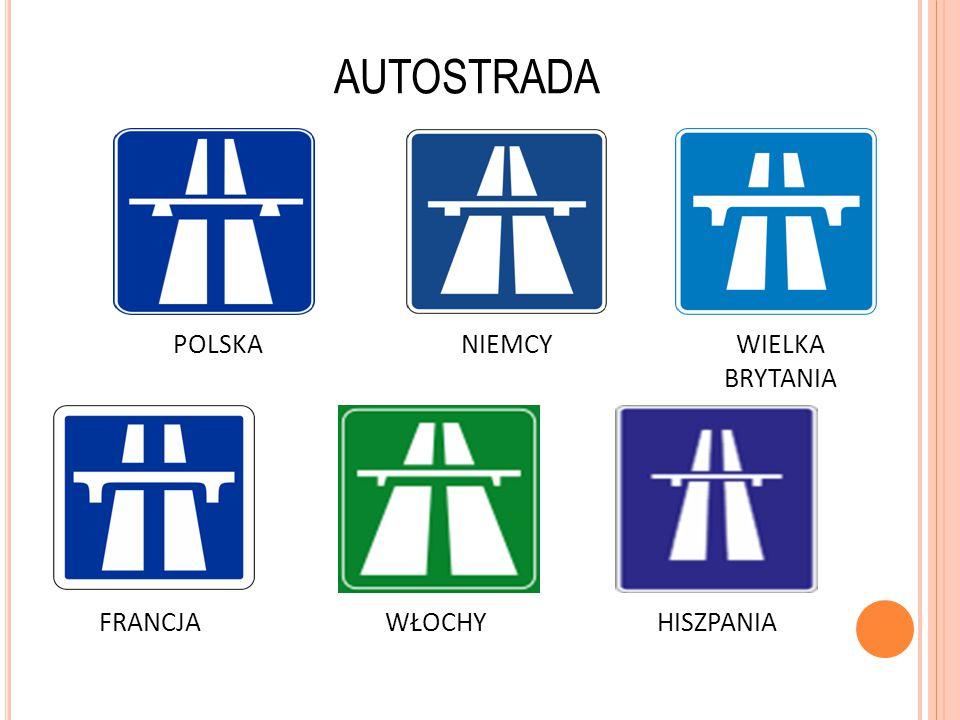 AUTOSTRADA POLSKA NIEMCY WIELKA BRYTANIA FRANCJA WŁOCHY HISZPANIA