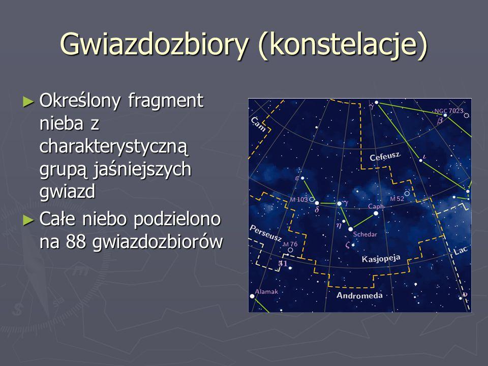 Gwiazdozbiory (konstelacje)
