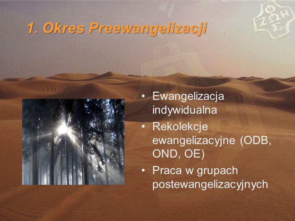 1. Okres Preewangelizacji