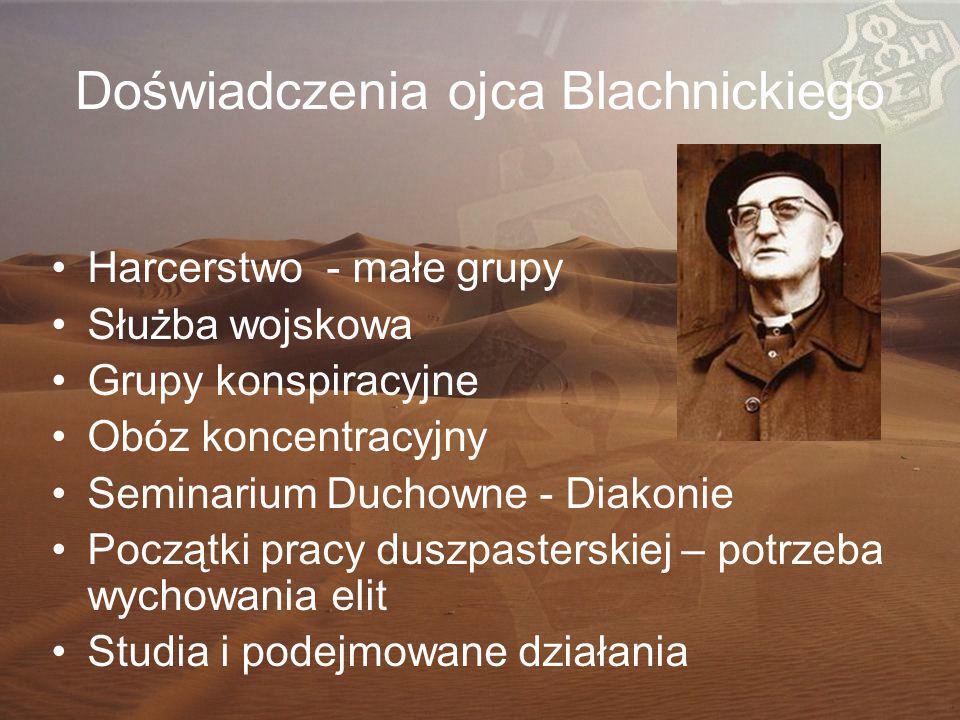 Doświadczenia ojca Blachnickiego