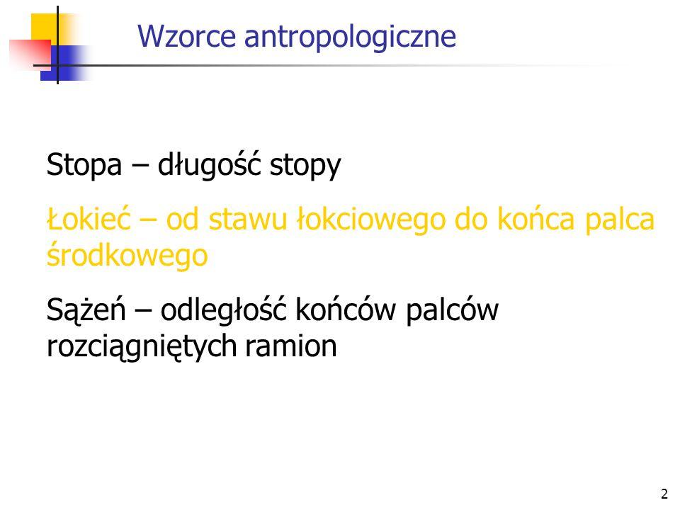 Wzorce antropologiczne