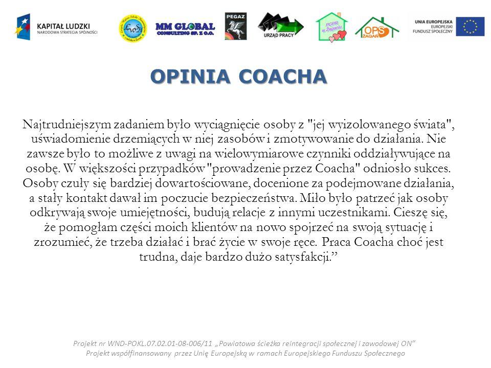 OPINIA COACHA