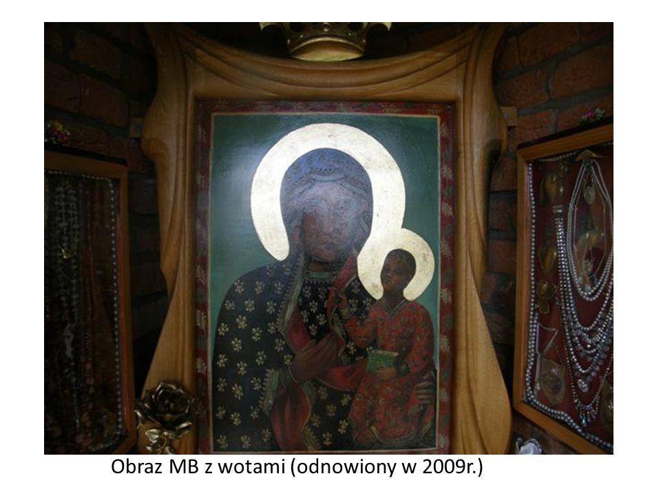 Obraz MB z wotami (odnowiony w 2009r.)