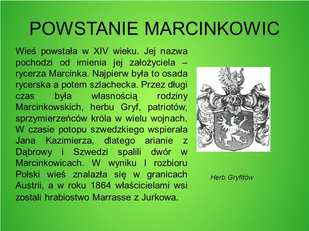 POWSTANIE MARCINKOWIC