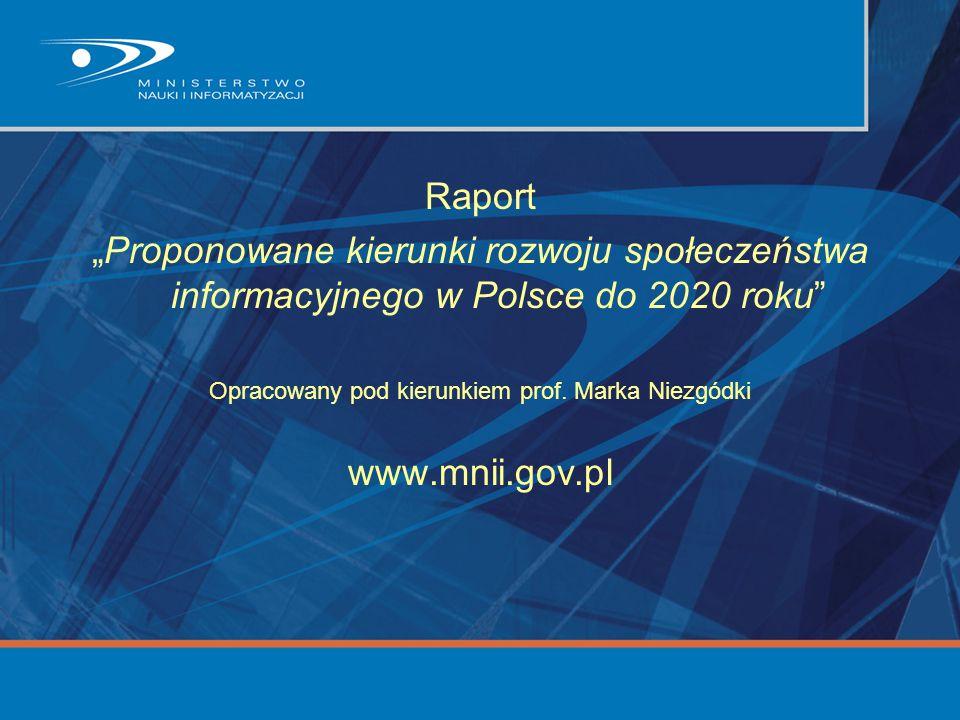 Opracowany pod kierunkiem prof. Marka Niezgódki