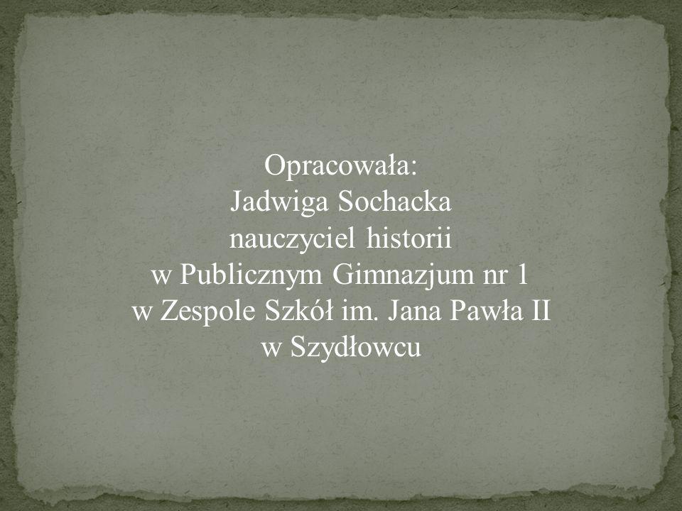 w Publicznym Gimnazjum nr 1 w Zespole Szkół im. Jana Pawła II
