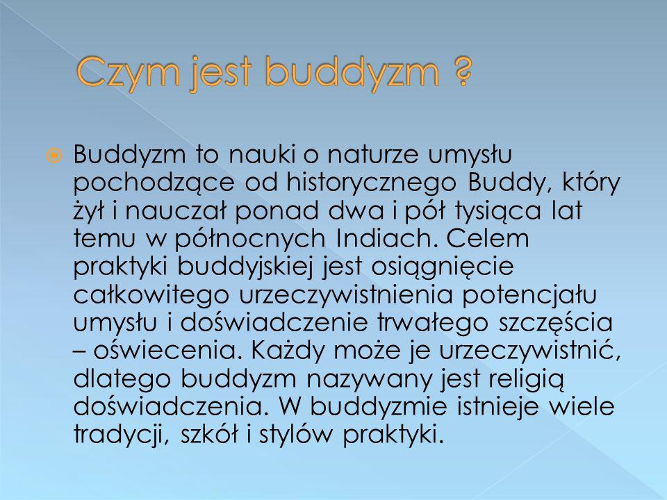 Czym jest buddyzm