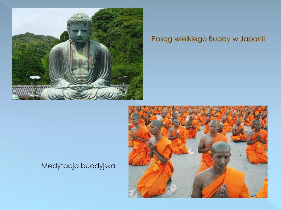 Posąg wielkiego Buddy w Japonii.