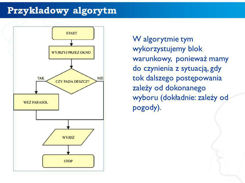 Przykładowy algorytm