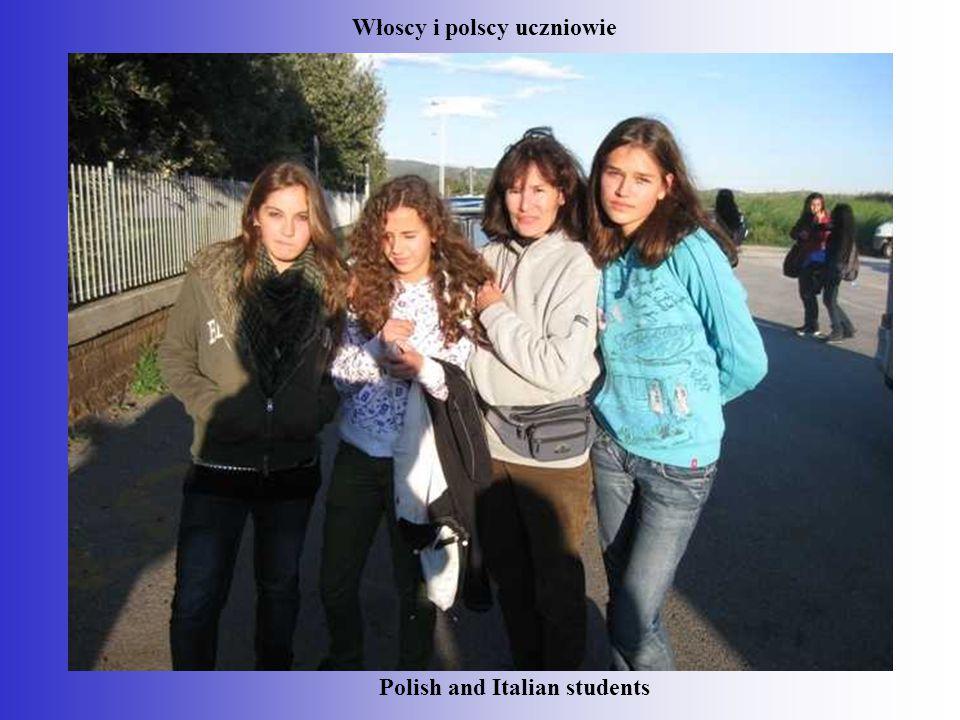 Włoscy i polscy uczniowie Polish and Italian students