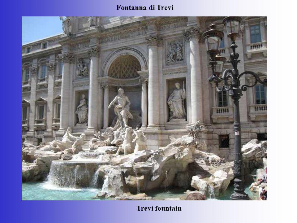 Fontanna di Trevi Trevi fountain