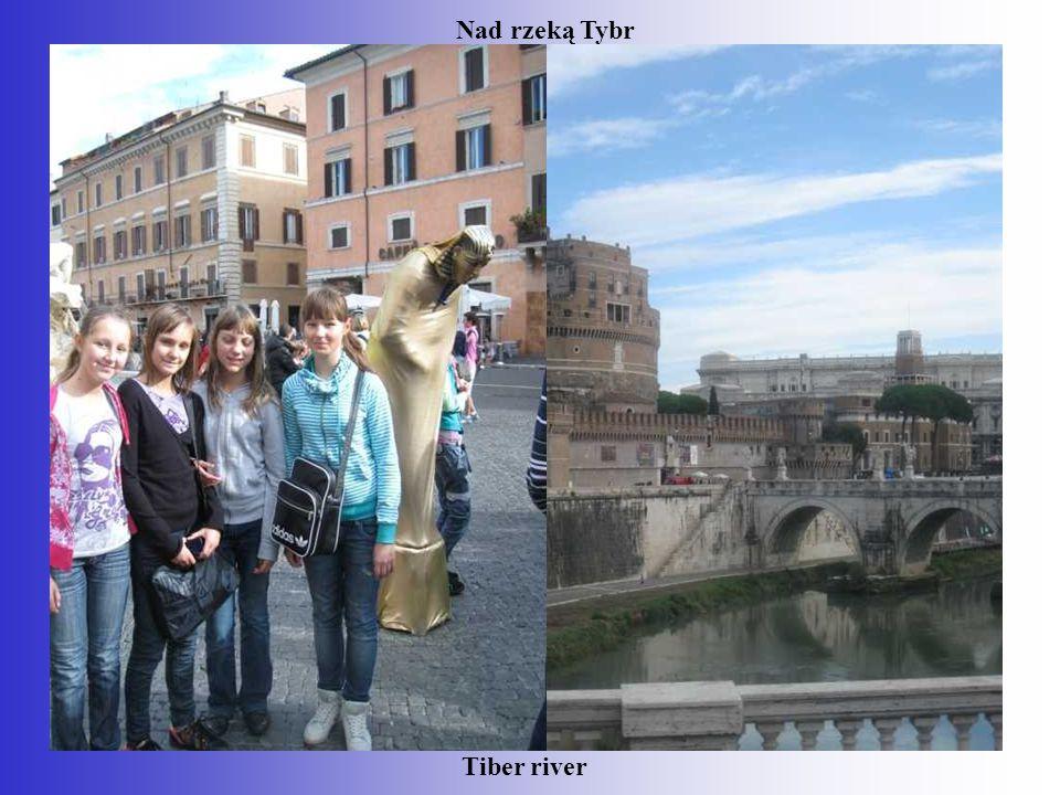Nad rzeką Tybr Tiber river