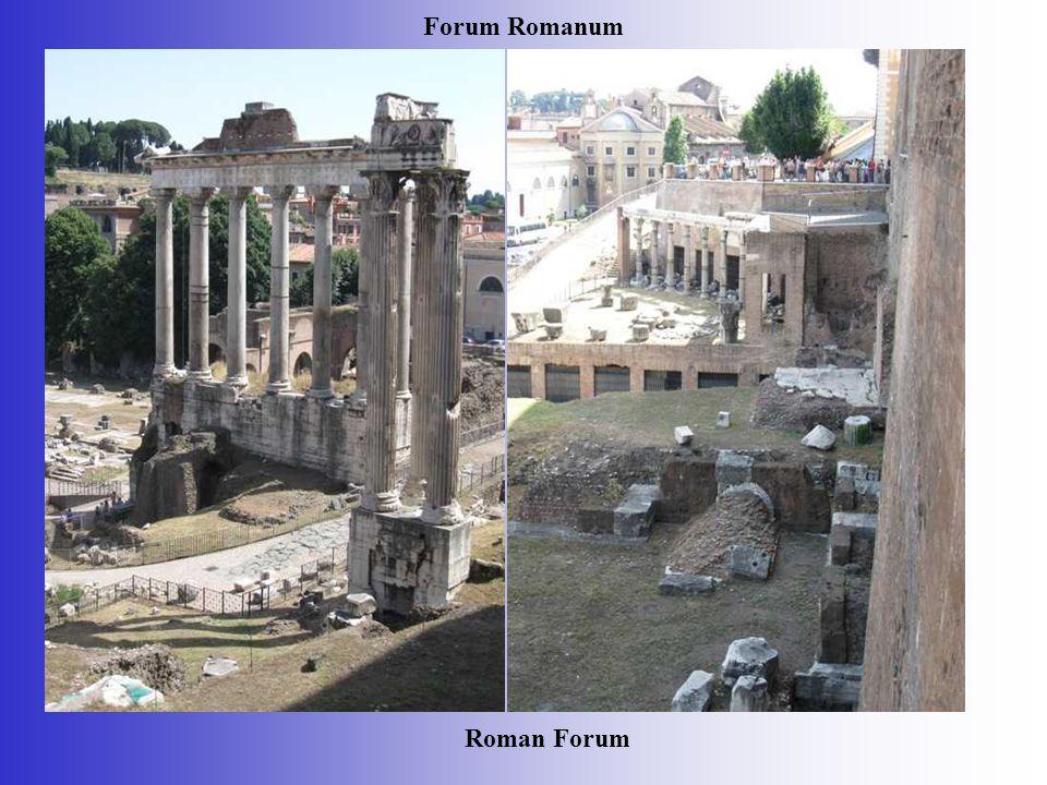 Forum Romanum Roman Forum