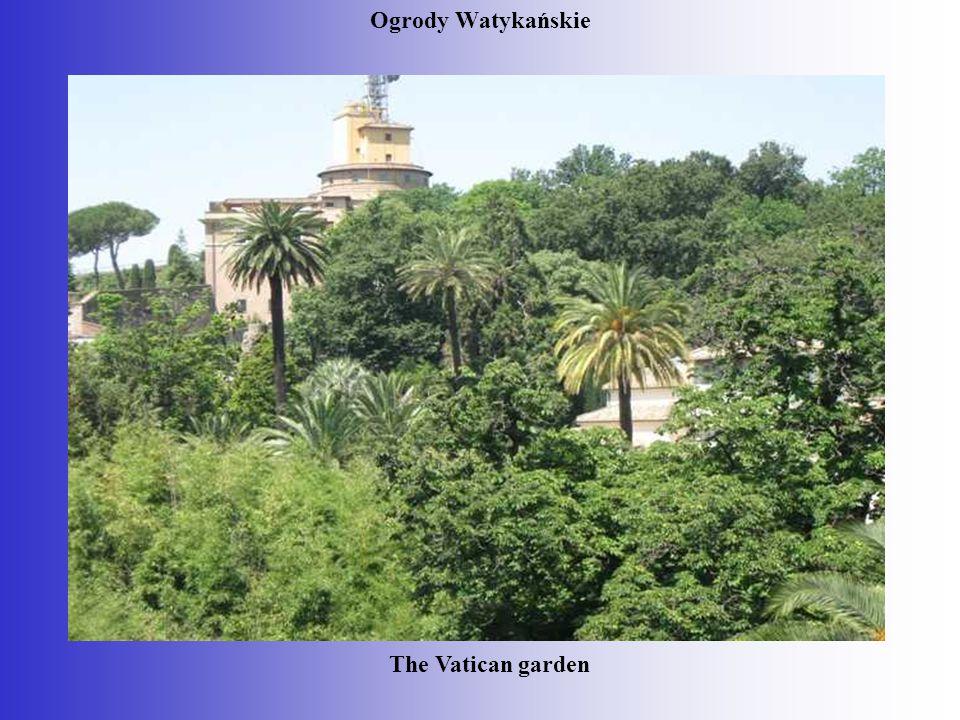 Ogrody Watykańskie The Vatican garden