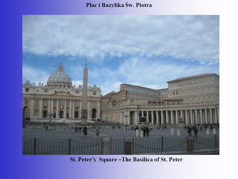 Plac i Bazylika Św. Piotra