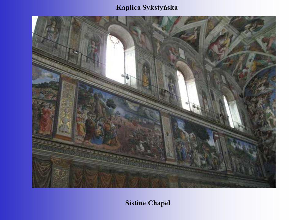 Kaplica Sykstyńska Sistine Chapel