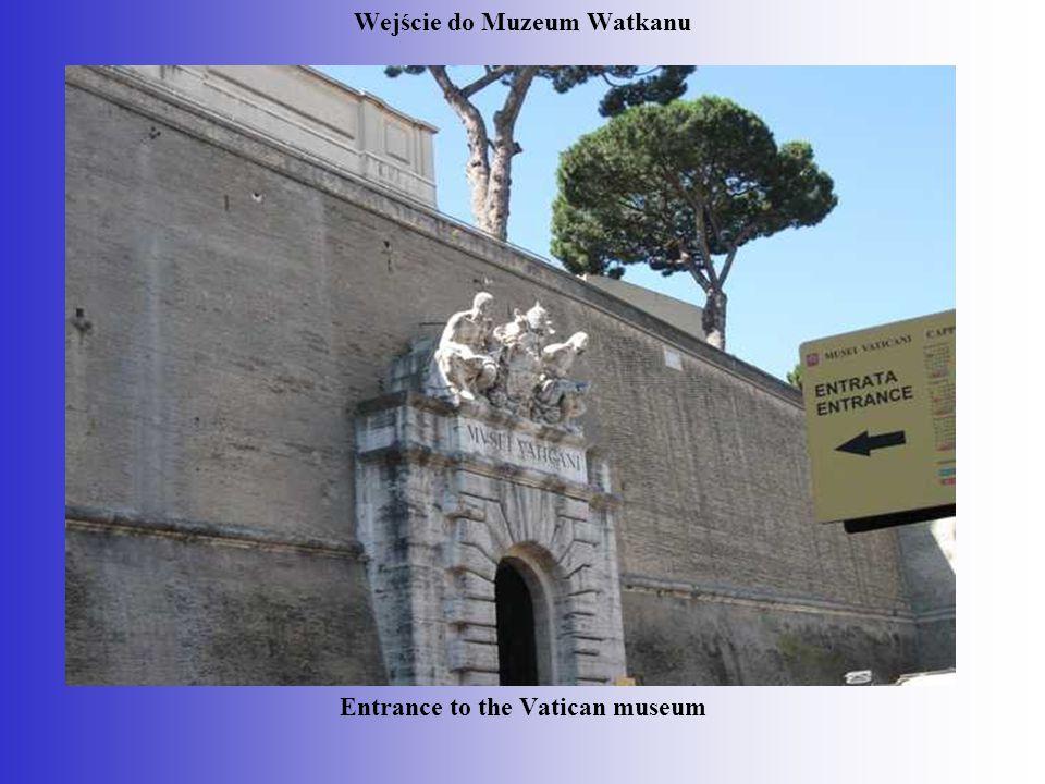 Wejście do Muzeum Watkanu