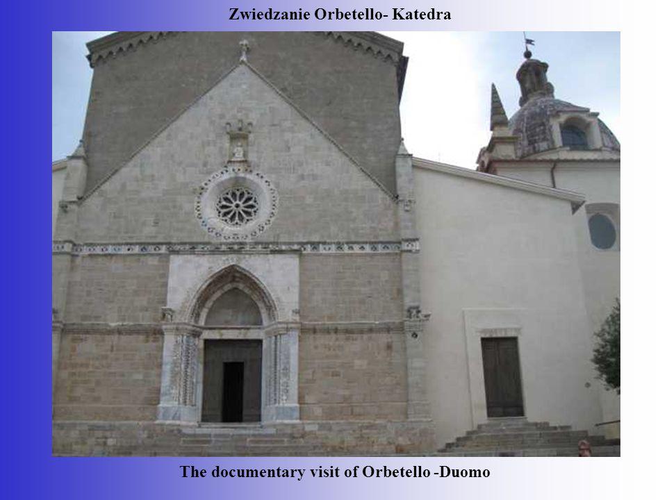 Zwiedzanie Orbetello- Katedra