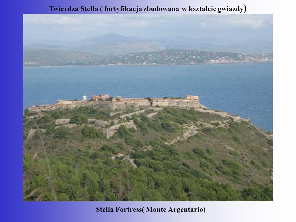 Twierdza Stella ( fortyfikacja zbudowana w kształcie gwiazdy)