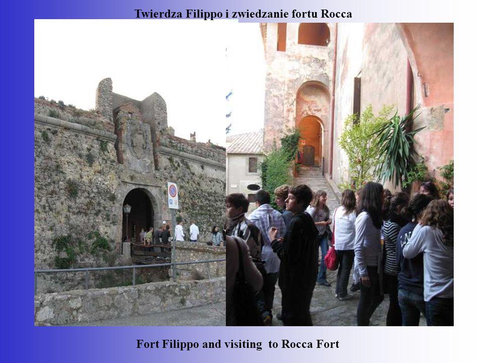 Twierdza Filippo i zwiedzanie fortu Rocca