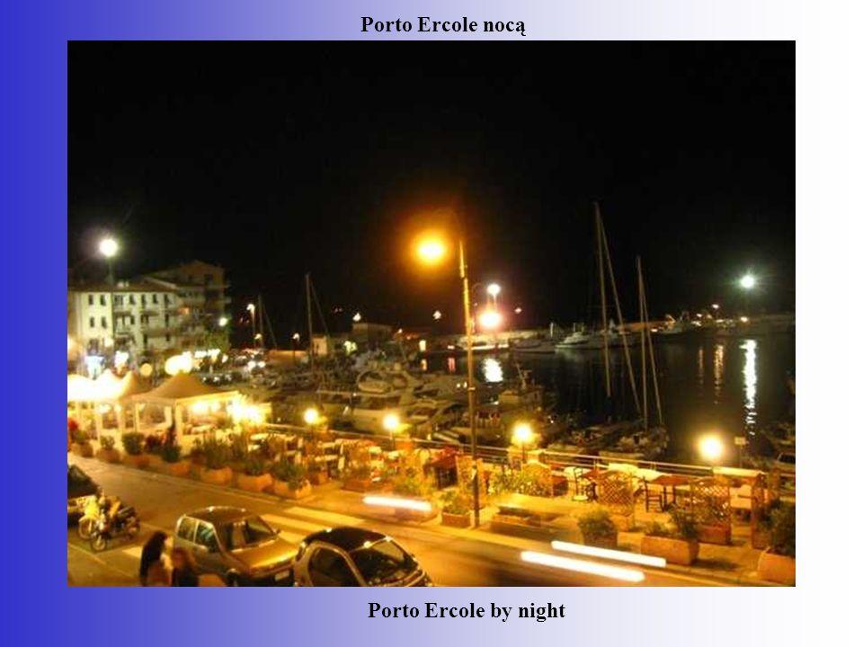Porto Ercole nocą Porto Ercole by night