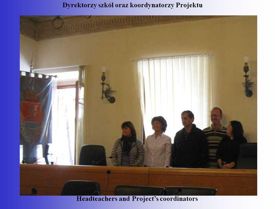 Dyrektorzy szkól oraz koordynatorzy Projektu