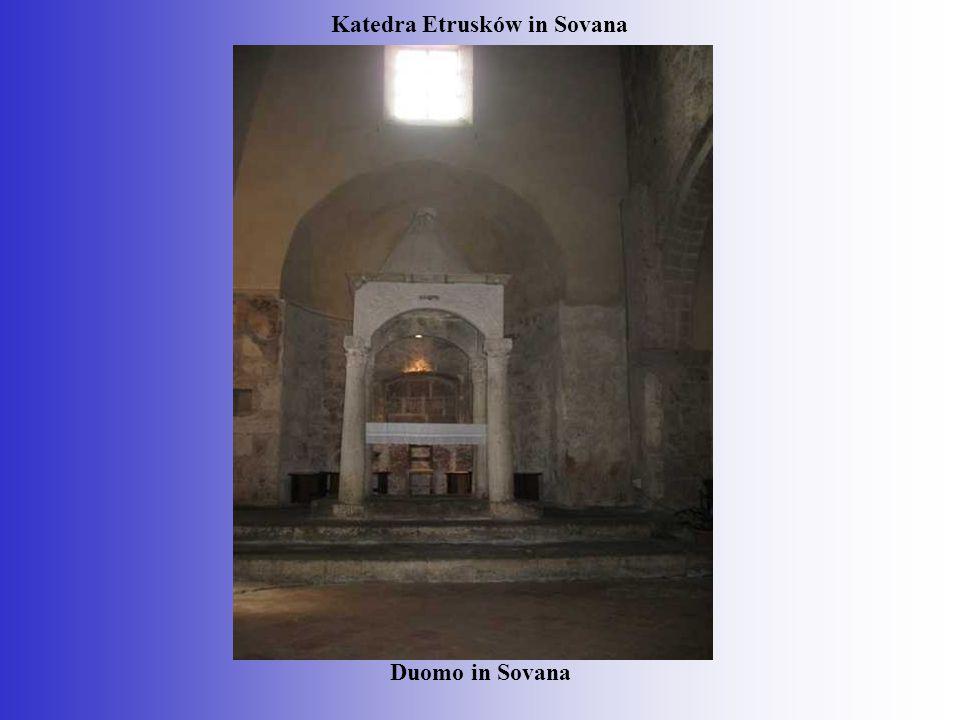 Katedra Etrusków in Sovana