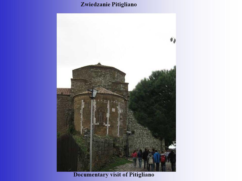 Zwiedzanie Pitigliano Documentary visit of Pitigliano