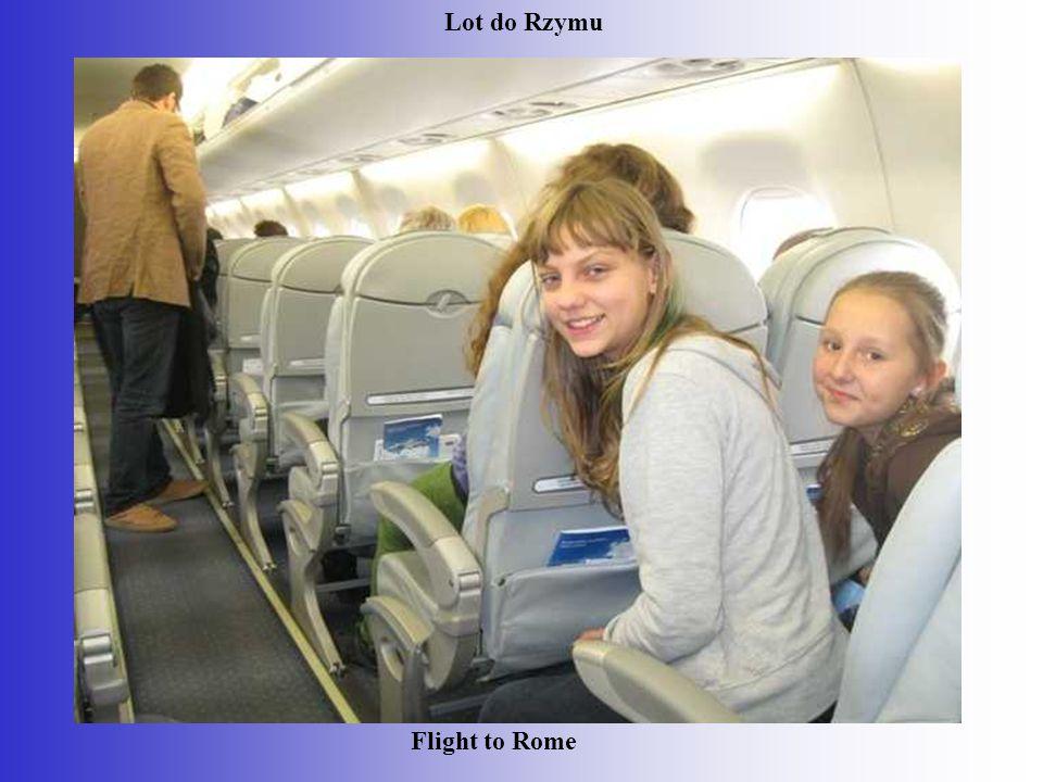 Lot do Rzymu Flight to Rome