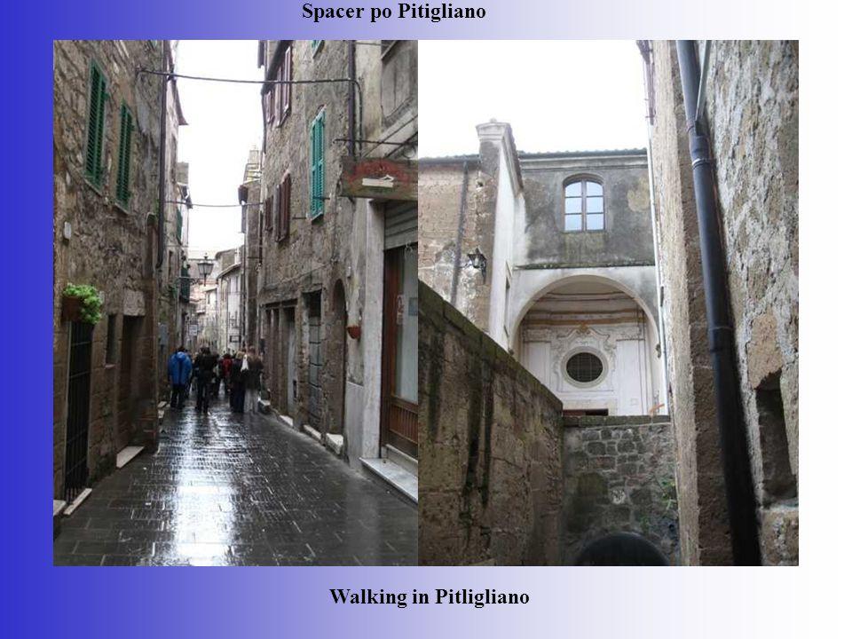 Walking in Pitligliano