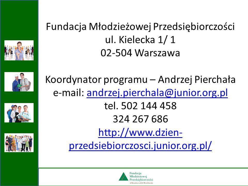 Fundacja Młodzieżowej Przedsiębiorczości ul. Kielecka 1/ 1
