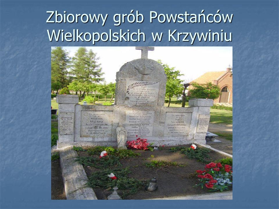 Zbiorowy grób Powstańców Wielkopolskich w Krzywiniu