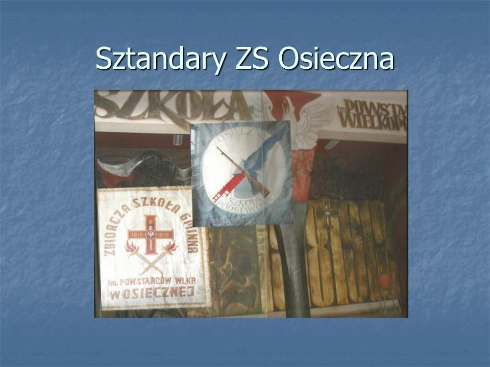 Sztandary ZS Osieczna