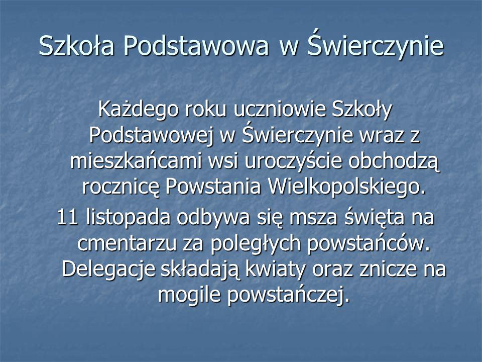Szkoła Podstawowa w Świerczynie