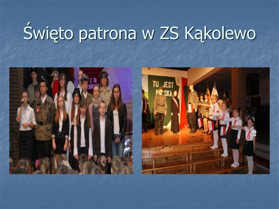 Święto patrona w ZS Kąkolewo
