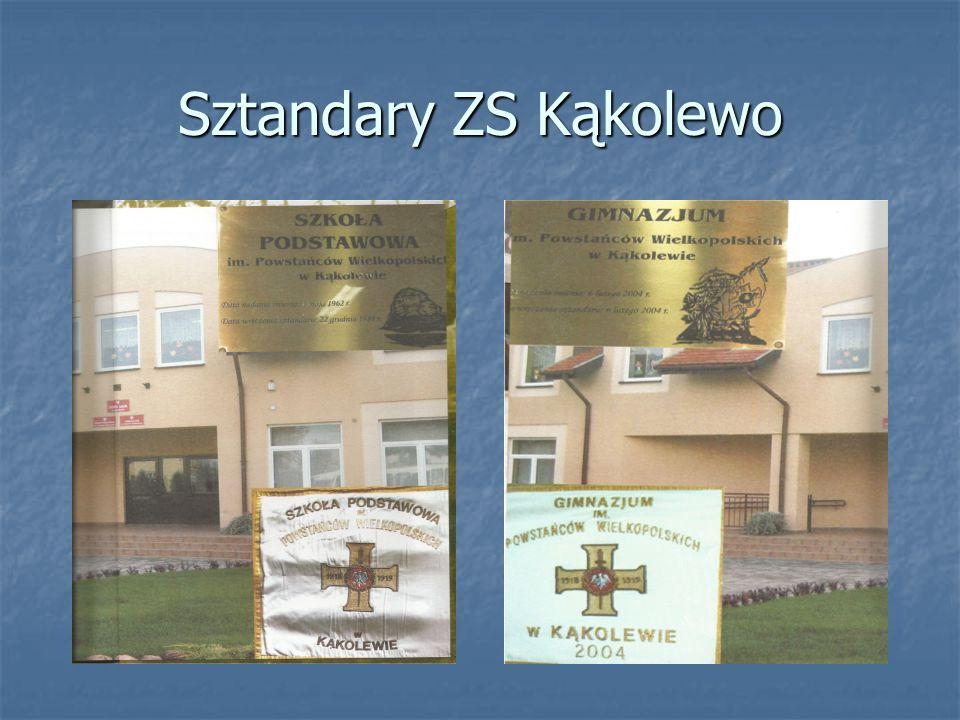 Sztandary ZS Kąkolewo